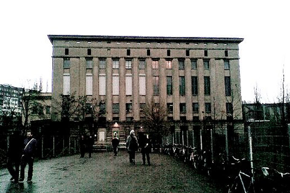 Turn off, switch on in Berghain