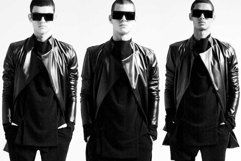 Unisex mode van Rad Hourani