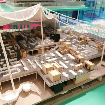 Design of Google Campus building by BIG architects
