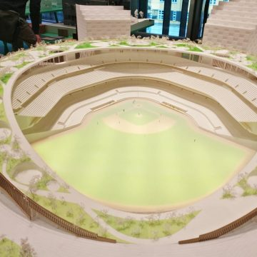 Design of Oakland As stadium by BIG architects
